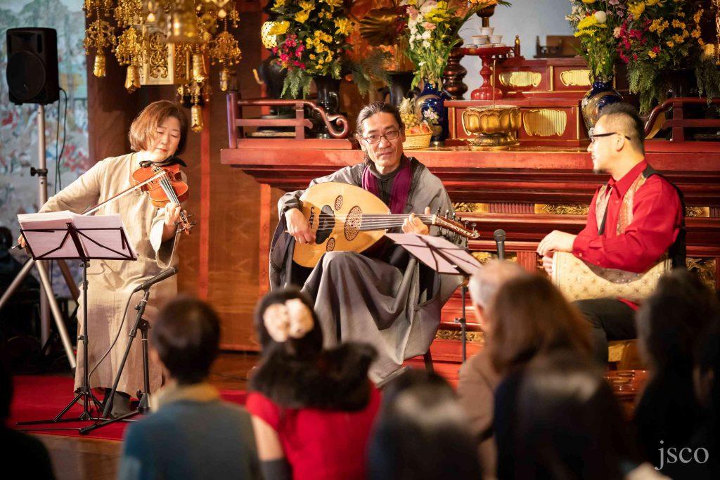 アラブ音楽と雅楽共奏